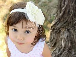 headband flowers child wedding hair accessory flower girl headband flowers