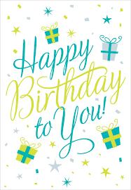 free printable happy birthday to you greeting card birthday