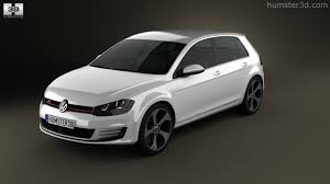 volkswagen golf gti 2014 360 view of volkswagen golf 5 door gti 2014 3d model hum3d store