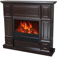 decor flame electric fireplace with 44