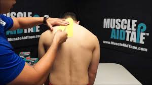 muscleaidtape cervical disc pain youtube