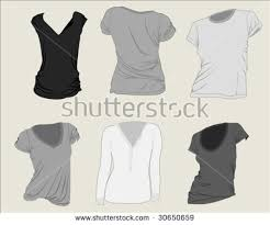 free women blank clothing vector download free vector art stock