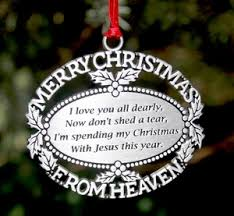 merry from heaven ornament