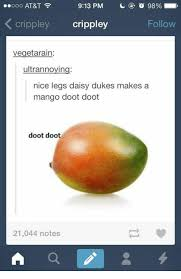 Mango Meme - 913 pm o 98 ooooo at t cri crippley follow vegetarain ultrannoying