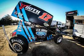 kyle larson drives ricky stenhouse jr u0027s sprint car team to first