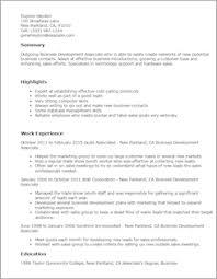 Bussiness Resume Resume Tempalte Uxhandy Com