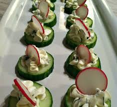 cucumber canapes cool as a cucumber sandwich