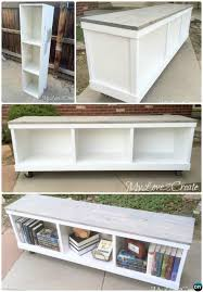 Instructions To Build A Storage Bench by Long Storage Bench Plans Storage Decorations