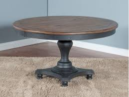 adjustable height round table bourbon county round dining table w adjustable height shop for