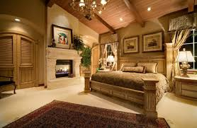 luxury country estilo homes interior de mater bedroom design with