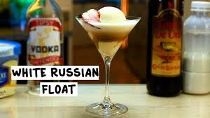 white russian cocktail white russian float youtube