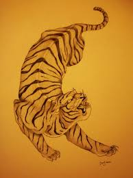 20 best japanese tiger tattoo drawings images on pinterest