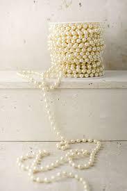 pearl vase fillers pearl garland spool 8mm 22yds