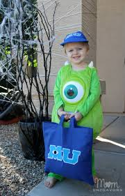 diy monsters university trick or treat bag