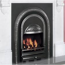 ashbourne arched cast iron insert high efficiency