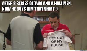 two and a half men shirt by uzaludcitasovo meme center