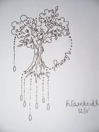 noce outline tree design