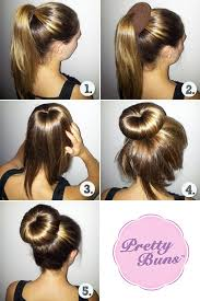 sock hair bun the magical hair trick that i now use everyday hair and makeup