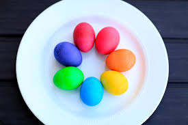 how to color easter eggs diy vibrant easter egg colors brooklyn and bailey youtube