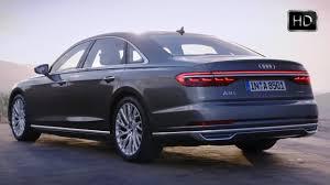 2018 audi a8 l long wheel base luxury sedan design overview