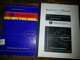 essentials of econometrics damodar n gujarati 9780073032658