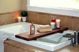 diy bathtub spa shelf teodoro