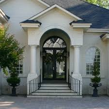 Wooden Front Stairs Design Ideas Great Front Staircase Design Exterior Front Elevation Staircase