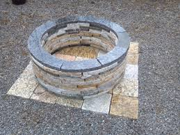 Firepit Base Firepit Base Design Ideas Rustzine Home Decor