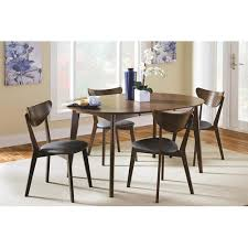 Mid Century Modern Furniture Virginia by Mid Century Round 5pc Dining Table Side Chairs Sets Haymarket Va