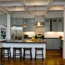 grey cabinets kitchen grey cabinets and dark counters houzz