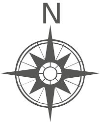 file gray compass rose svg wikimedia commons