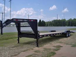 34 car hauler equipment utility trailer 2 3 wood deck gooseneck i
