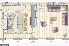 plan de cuisine avec ilot central plan cuisine moderne excellent plan de cuisine resine