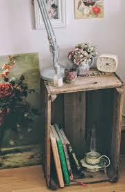 a handmade cottage vintage crate furniture ideas