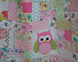 Owl Bedding For Girls by Owl Quilt Etsy