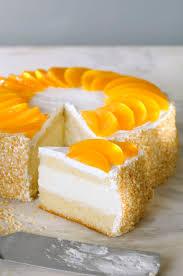 postre chaja peach meringue cake recipe