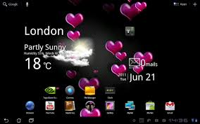 hearts live wallpaper free android apps on google play