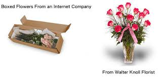in a box delivery did you every why flowers from walter knoll florist are
