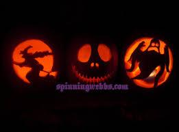 graveyard pumpkin stencil pumpkin carving spinning webbs