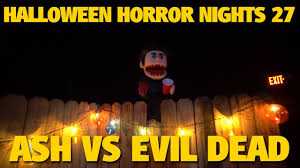 ash vs evil dead maze highlights halloween horror nights 27