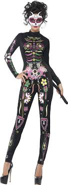 day of the dead costumes buy day of the dead womens sugar skull cat costume