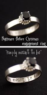 nightmare before engagement ring engagement