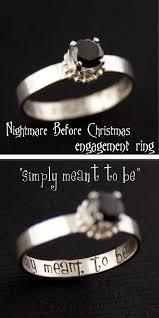 halloween wedding rings nightmare before christmas engagement ring christmas engagement