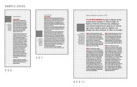 grid layout for 8 5 x 11 page grid texas tech university system