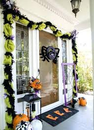 halloween front porch ideas decorated front porch with grim reaper