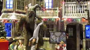 Horror Themed Home Decor by Krampus Christmas Scene At 2016 Transworld Haa Show Youtube