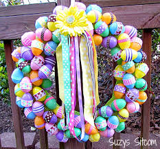 how to make easter wreaths diy easter ribbon wreath