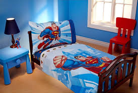 decoration batman room sharp home design masculine blue kids bedroom theme color with mini interior set and