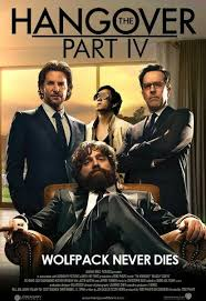 anyone know if this poster for hangover 4 is legit first i u0027ve