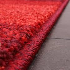 tappeto moderno rosso phc tappeto moderno per soggiorno e altro con motivo a onde